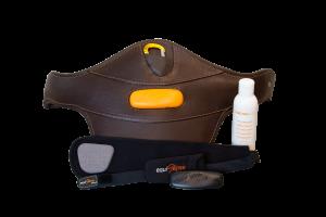 Equisense Motion S Fitnesstracker Set mit Stollenschutzgurt